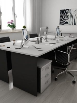 Light Grey & Dark Grey Table Series