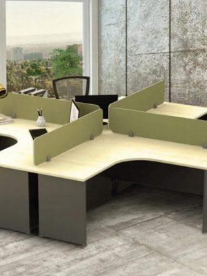 Maple + Dark Grey Table Series